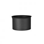 Zděř komínová 160 (1,5) černá