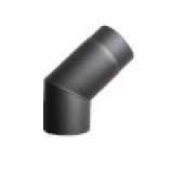 Koleno segmentové 45° 150 (1,5) antracit