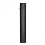 Trubka s klapkou 1m 130 (1,5) černá