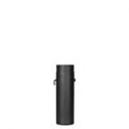 Trubka s klapkou 0,5m 150 (1,5) černá