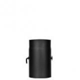 Trubka s klapkou 0,25m 150 (1,5) černá