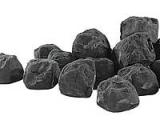 Carlo Milano dekorační černé uhlí